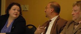 Lisa Graves, Steven Greenhut, and Bill Lueders