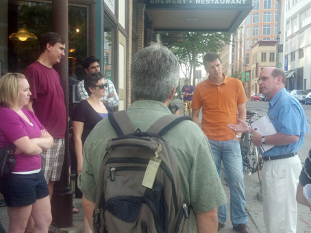 Local journalists consume beer knowledge, beer at SPJ Madison pro chapter event