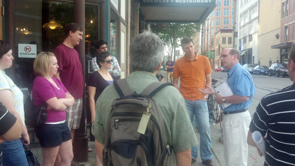 beer history walking tour