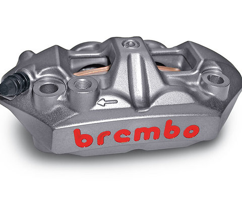 BREMBO™ MONOBLOC M4 RADIAL CALIPERS 108MM WITH BRAKE PADS