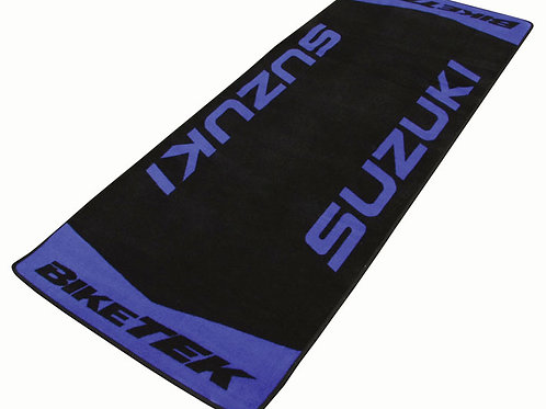 Suzuki Garage Pit Mat, color Blue, new series