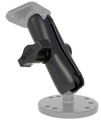 "RAM™ Double Socket Arm for B Size 1"" Balls"