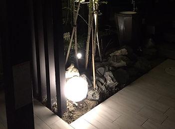 夜を演出するライティング・機能的カーポート設置の相談はSun east planningへ