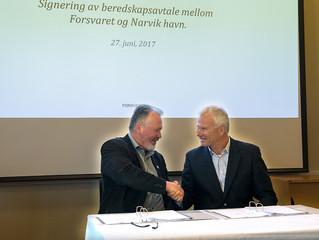 Signerte viktig beredskapsavtale i nord
