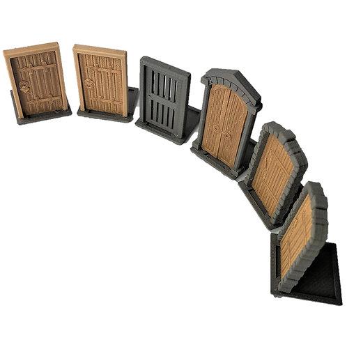 Dungeon Doors Set