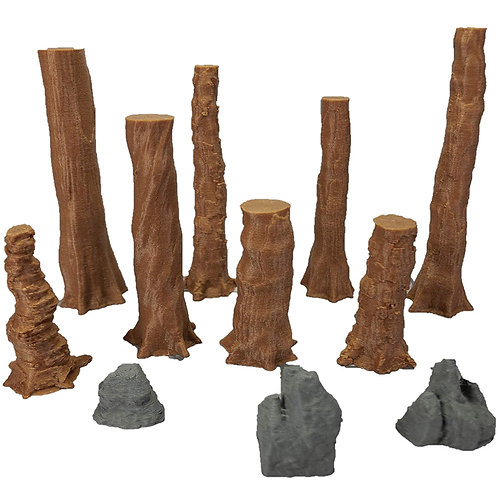 Redwood Trees Set 1