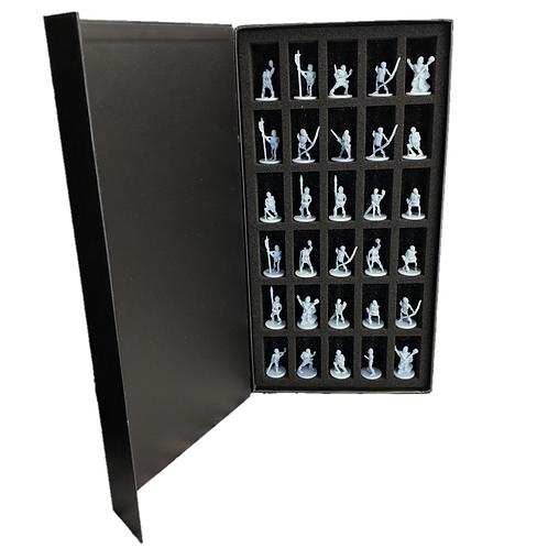 Undead Skeleton Warriors Miniature Fantasy Figurines Set of 30