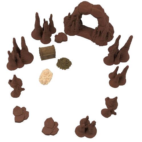 Deluxe Cave Dungeon Set