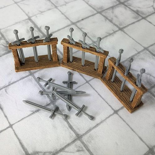 Sword Rack Set