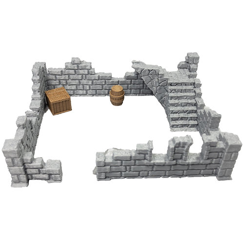 Building Ruins Set 4