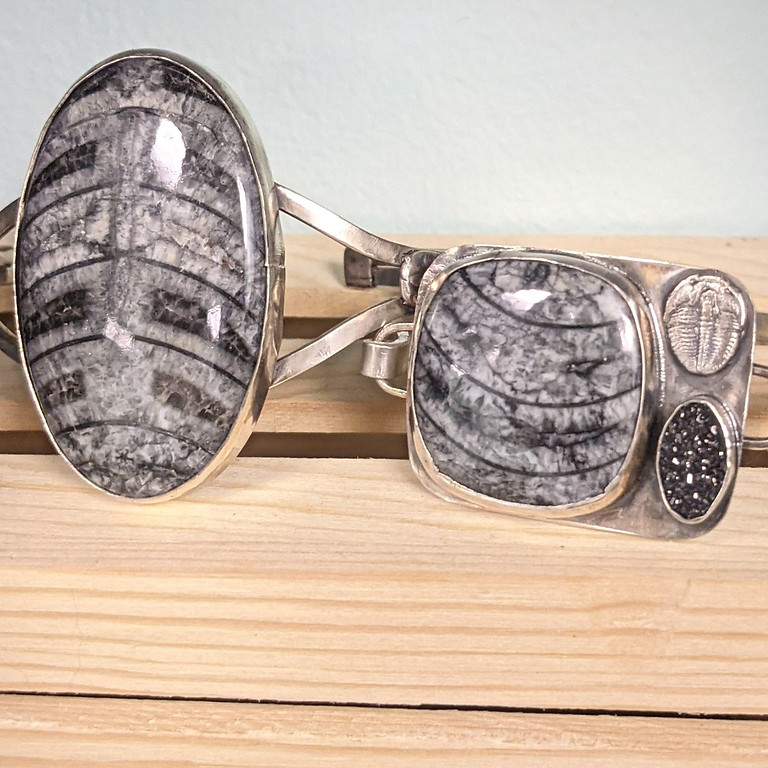 Kitchen Table Silver Smithing- Creative Cuffs