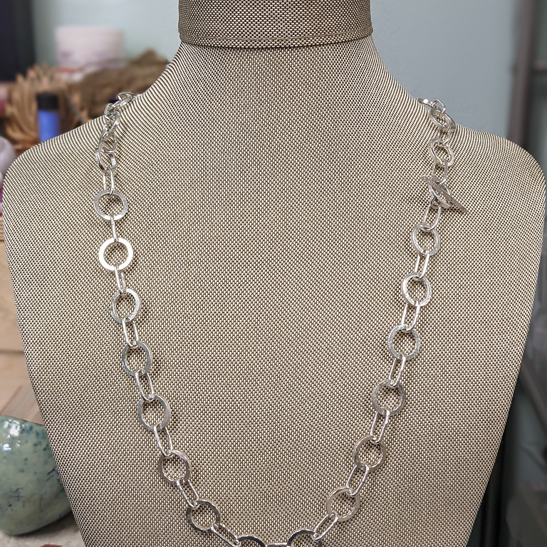 Kitchen Table Silver Smithing-  Chunky Chains