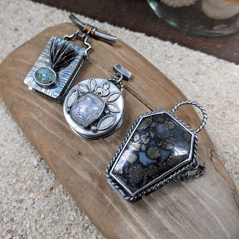 Kitchen Table Silversmithing - Hollow Fabrication - Lockets, Boxes and More!