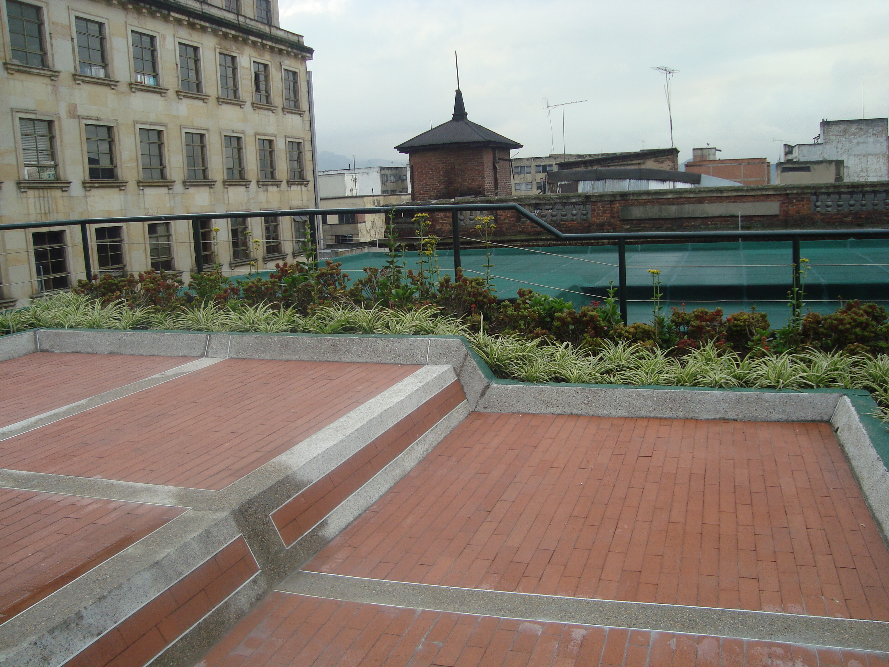 Terraza verde centro Bogota 3