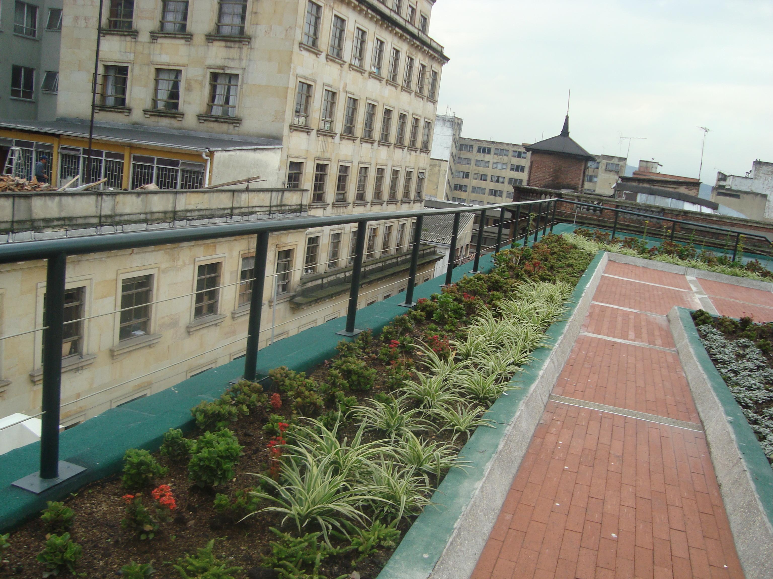 Terraza verde centro Bogota 1