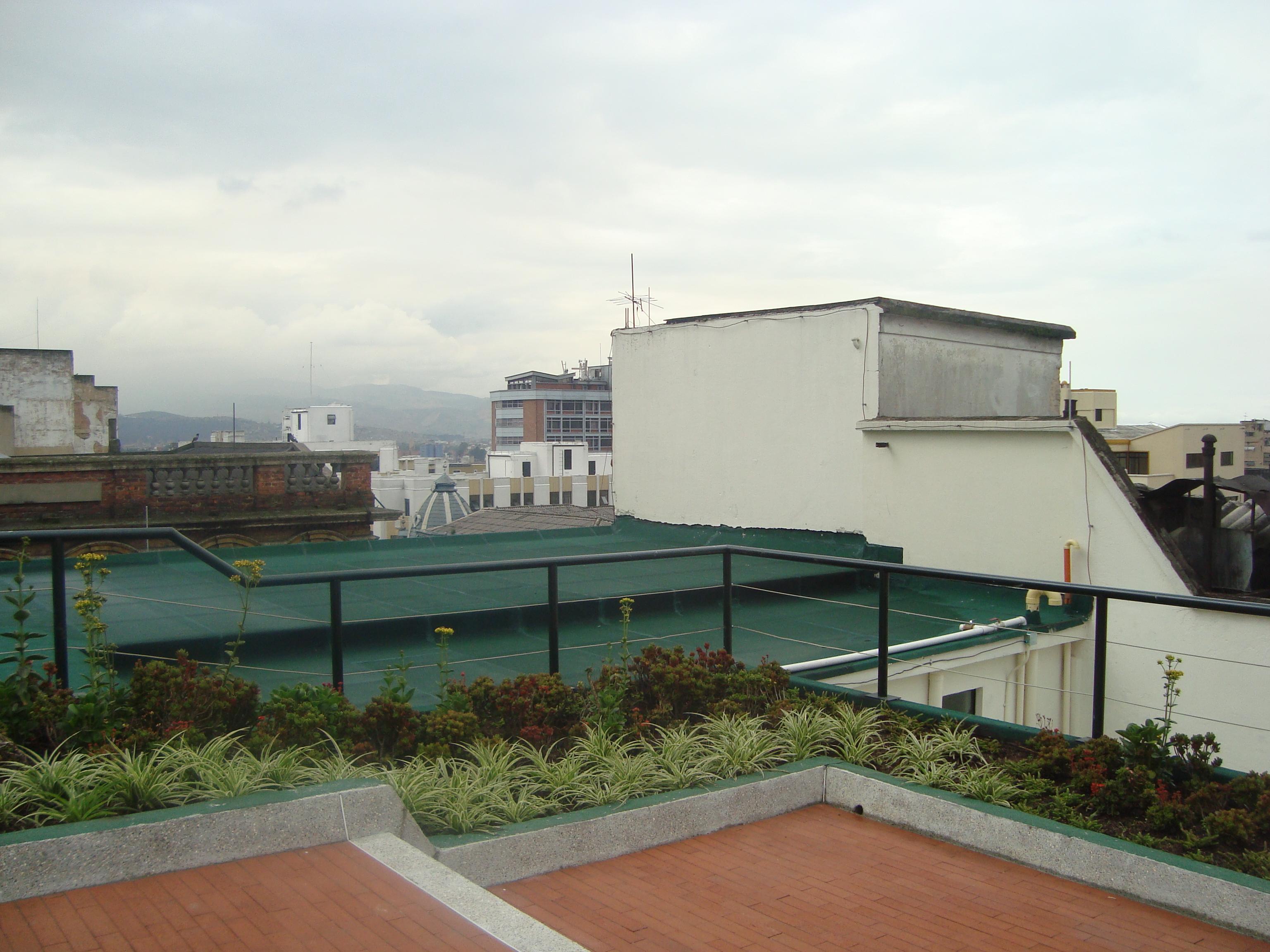 Terraza verde centro Bogota 5