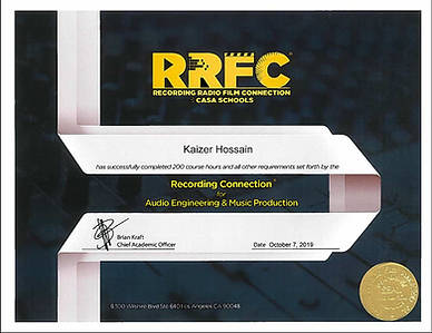 Kaizer RRFC Certificate.png