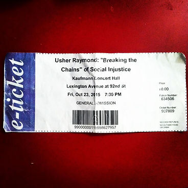 Usher Breaking The Chains Ticket Kaizer