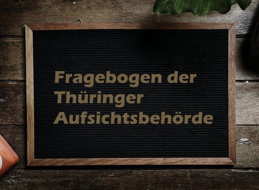 Fragebogen der Thüringer Datenschutz-Aufsichtsbehörde