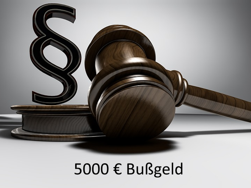 Keinen ADV-Vertrag - 5000 € Bußgeldbescheid?