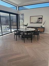 Herringbone Parquetry Timber Flooring