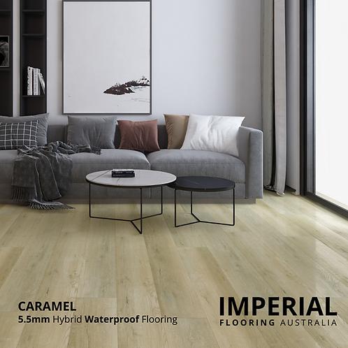 Caramel - 5.5mm Hybrid Waterproof Flooring 1540mm x 228mm