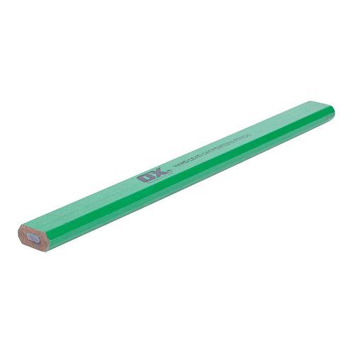 OX Hard Green Carpenters Pencils - Single Buys OX-T023072