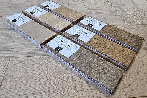 3 x Free Samples - 15mm & 20mm Oaks Urbana Engineered Timber Floors