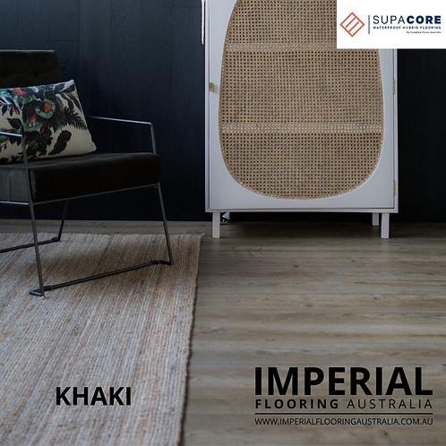 Khaki - Hybrid Flooring 1500mm(L) x 180mm(W) x 6.5mm(T)