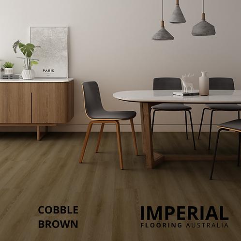 Cobble Brown - Hybrid Waterproof Flooring 1540mm x 182mm x 6.5mm