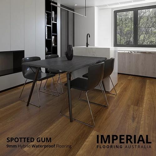 Spotted Gum - 9mm Hybrid Waterproof Flooring 1800mm x 228mm