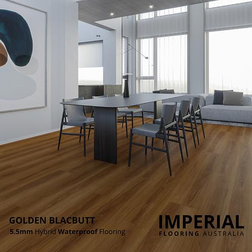 Golden Blackbutt - 5.5mm Hybrid Waterproof Flooring 1540mm x 228mm