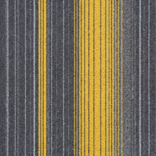Silver Yellow - Commercial Carpet Tiles 50cm x 50cm