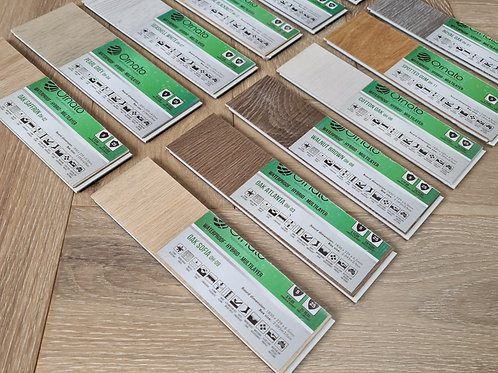 5 x Free Samples - 6.5mm Hybrid Waterproof Flooring - Ornato XL