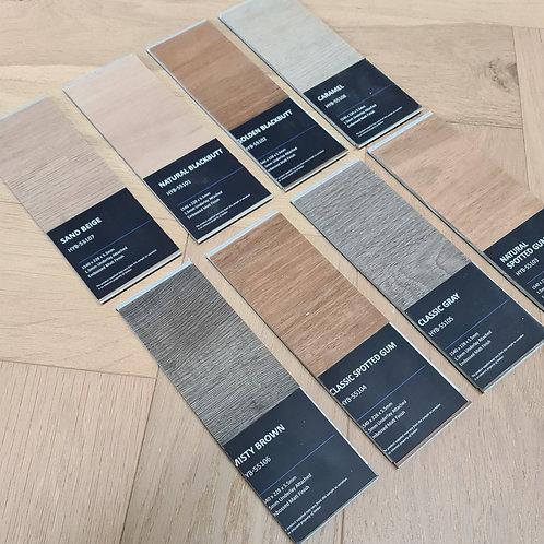 5 x Free Samples - 5.5mm Hybrid Waterproof Flooring