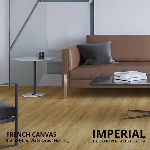 French Canvas - 9mm Hybrid Waterproof Flooring 1800mm x 228mm