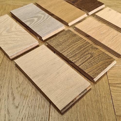 3 x Free Samples - 14mm Oaks Engineered Timber Flooring