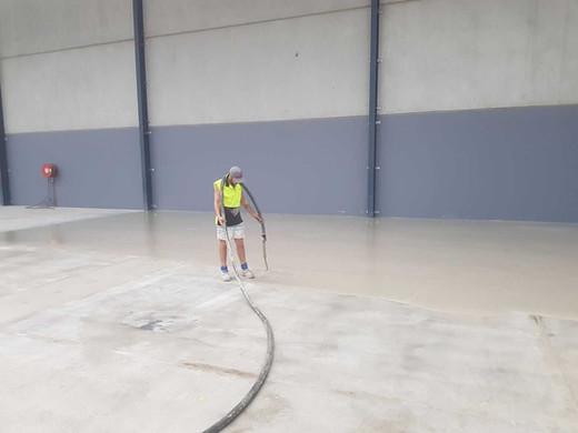 Pump Application Floor Preparation