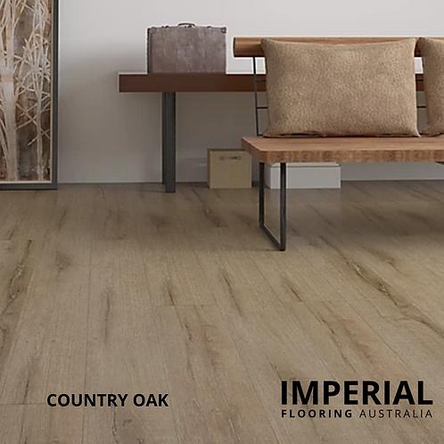 Country Oak - Laminate Flooring 48hr Water Resistant AC4 - 12mm