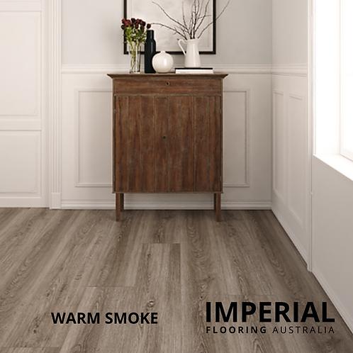 Warm Smoke - Hybrid Waterproof Flooring 1540mm x 182mm x 6.5mm