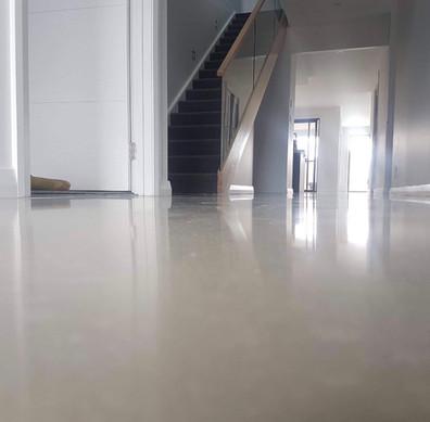 DL59 Polished Overlay Concrete