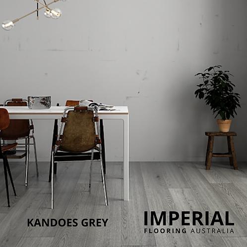 Kandos Grey - Hybrid Waterproof Flooring 1540mm x 182mm x 6.5mm