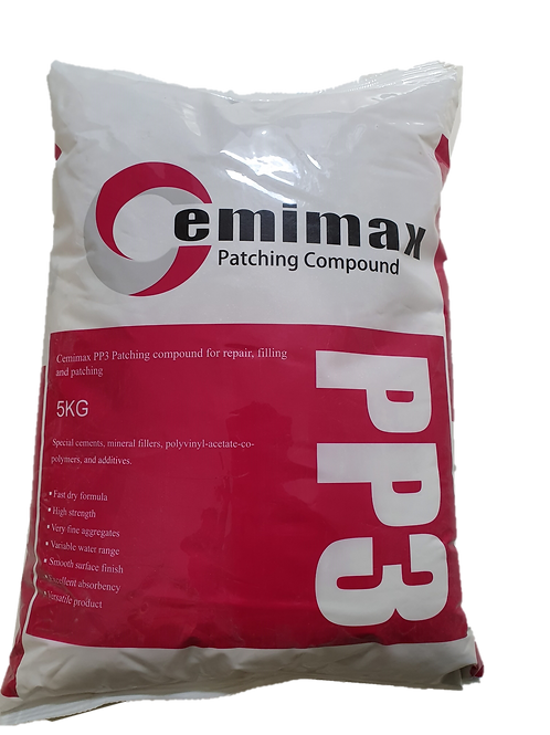 PP3 Feather Edge Smoothing Compound 5KG for Repair, Filling & Patching