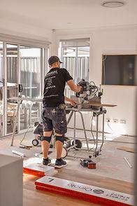 Imperial Flooring Hybrid Waterproof Flooring Installation