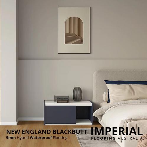 New England Blackbutt - 9mm Hybrid Waterproof Flooring 1800mm x 228mm
