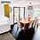 Thumbnail: Charcoal - Hybrid Waterproof Flooring 1540mm x 182mm x 6.5mm