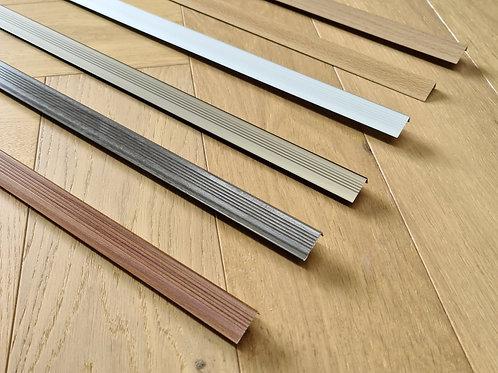 10mm L Angle Transition Trims 2.7m Lengths