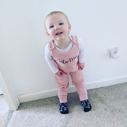 Personalised Winter Romper up to 2 years