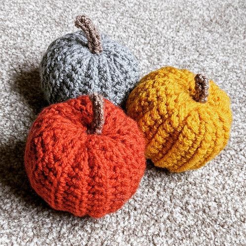 Pumpkins (set of 3)