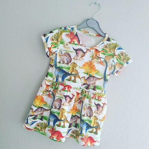 Dinosaur Summer Dress